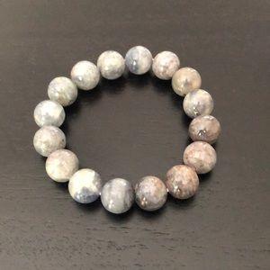 Jewelry - Iolite stretch bead bracelet